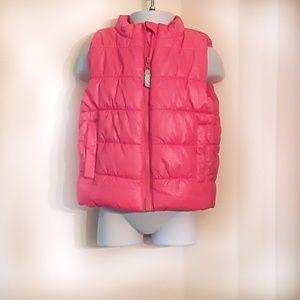 🔥3/$10🔥Carter's little girls puffer vest